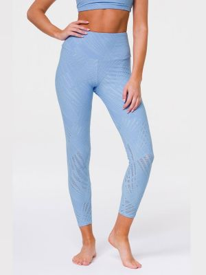 Onzie Selenite Midi Legging - Powder Blue Selenite