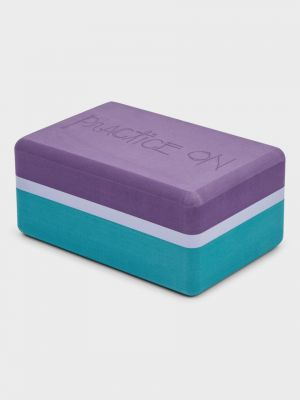 Manduka Recycled Foam Yoga Block - Cosmic Sky