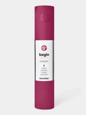 Manduka Begin Yoga Mat - Dark Pink