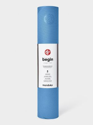 Manduka Begin Yoga Mat - Light Blue