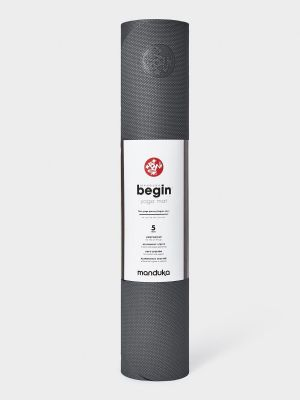 Manduka Begin Yoga Mat - Steel Grey