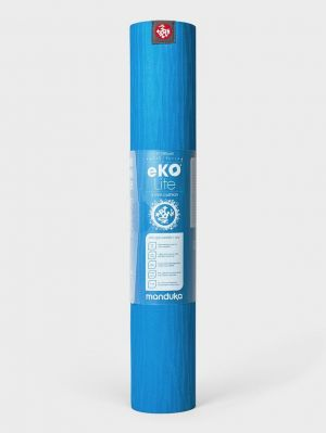Manduka eKO Lite Yoga Mat 4mm - Dresden Blue