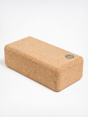 Manduka Lean Cork Yoga Block - 1