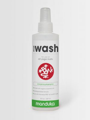 Manduka Mat Wash Spray - Gingergrass - 8oz