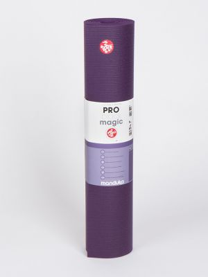 "Manduka PRO Long (85"") Yoga Mat - Black Magic"