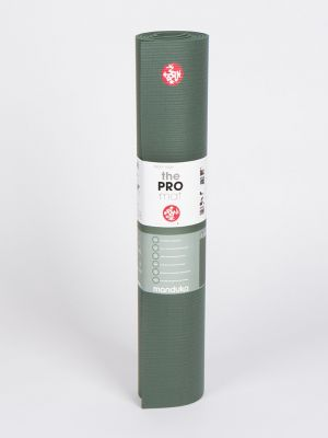 "Manduka PRO long (85"") Yoga Mat - Black Sage - 1"