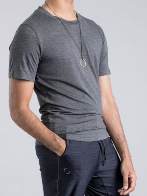 Ohmme Cobra Bamboo T Shirt - Solid Grey