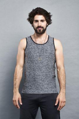 Ohmme Vajra II Mens Yoga Vest - Grey