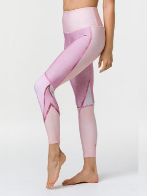 Onzie Graphic High Rise Legging  - Rose Gold - 1