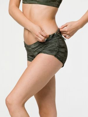 Onzie Side String Short - Moss Camo - 1