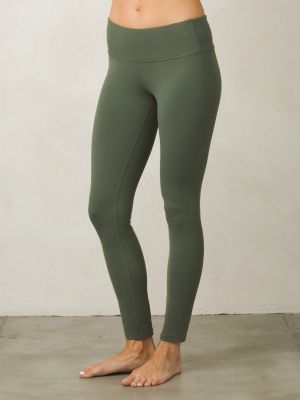 PrAna Pillar Legging Pant - Forest Green - 1