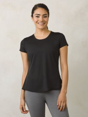 PrAna Revere Short Sleeve T-Shirt - Black