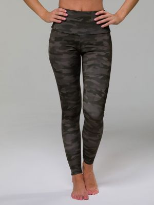 Onzie High Rise Legging  - Moss Camo