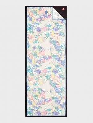 yogitoes Yoga Towel - Tropics Multi